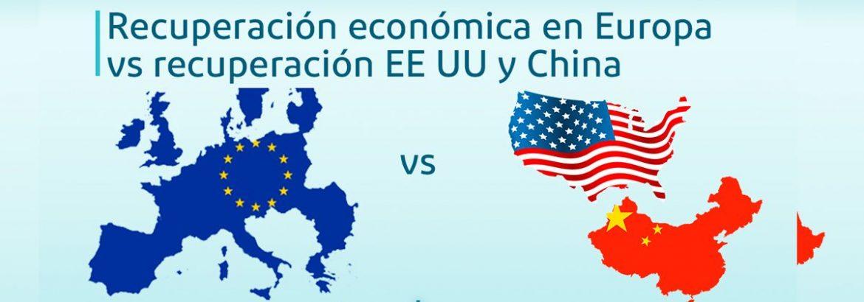 recuperación económica en europa vs estados unidos china